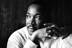Seattle Times photo of Dr. Martin Luther King Jr.