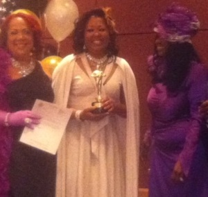 JoJo O'Neal of Star 94.5 with Co-host Ms. B and Host Pam Powell