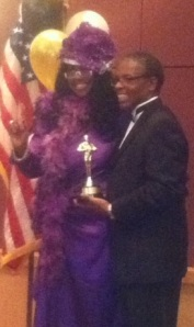 Pastor Larry G Mills with Pam Powell cropped