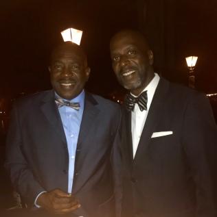 Essex James (left) and Willie Clark