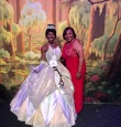 Disney's Princess Tiana with Trish Martin